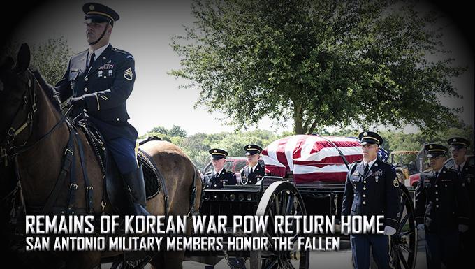 Korean War POW remains return home